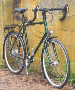 Green Rodriguez Makeshift Touring Bike