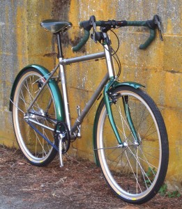 Stainless And Green Rohloff Rodriguez