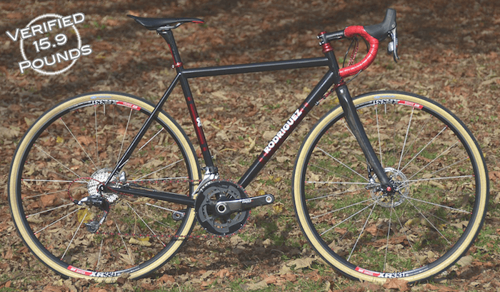 Custom Bicycles with Disc Brakes from Rodriguez | Lighter than ...