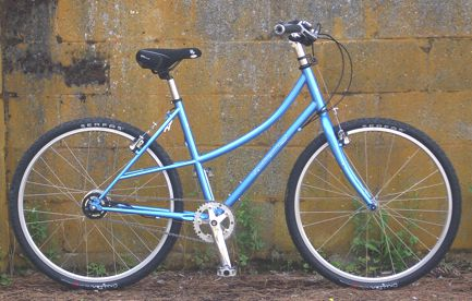Rohloff Bike with Mixte frame