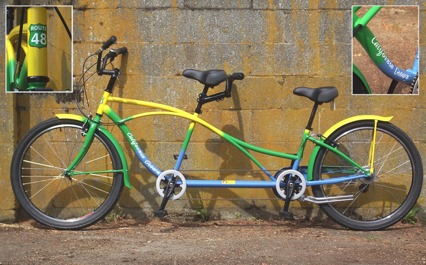 Foster Farms Tandem Bicycle California