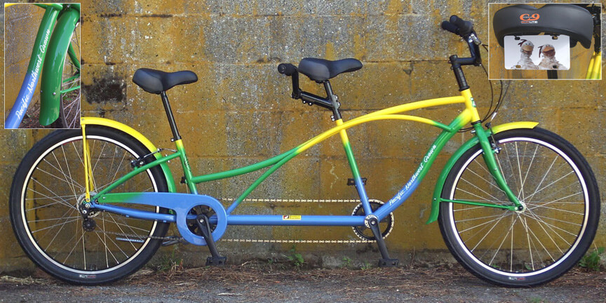 Foster Farms Tandem Bicycle Pacific Northwest